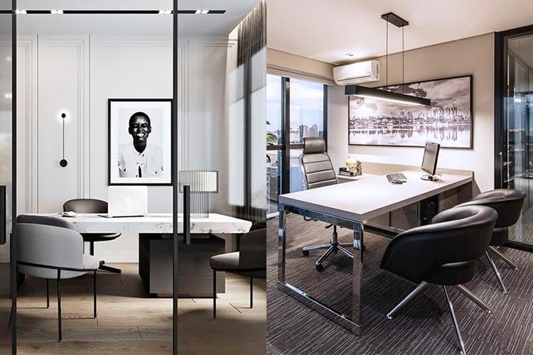 Imagem de capa do post sobre preto e branco no design de interiores