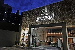 Fachada da loja Sanvel Móveis em Pouso Alegre
