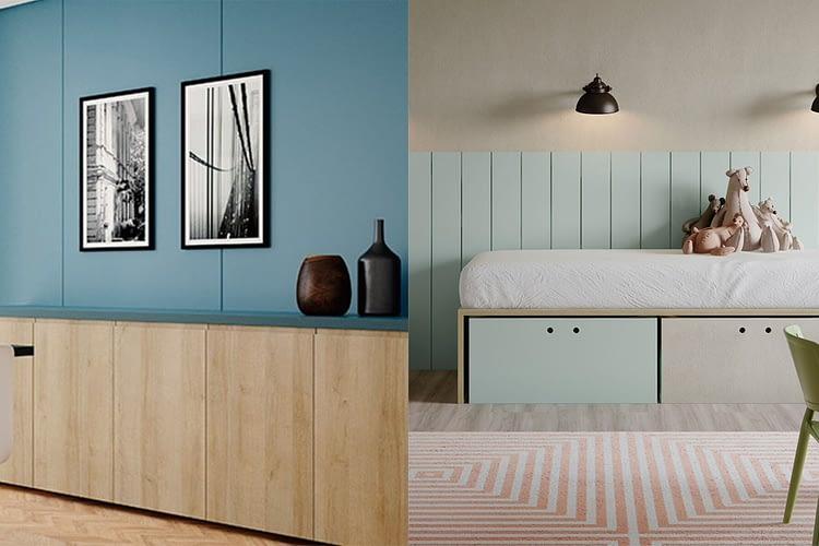 Imagem de capa do post sobre cores no design de interiores